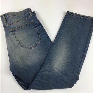Gap Slim Straight men's jeans distressed 40 x 32